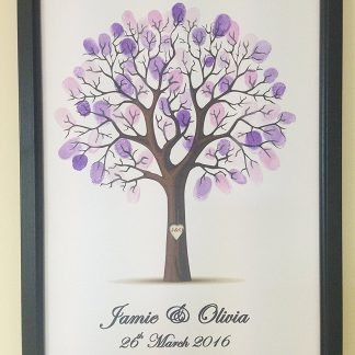 Personalised Wedding Tree Guest Book Alternative Wishing Tree